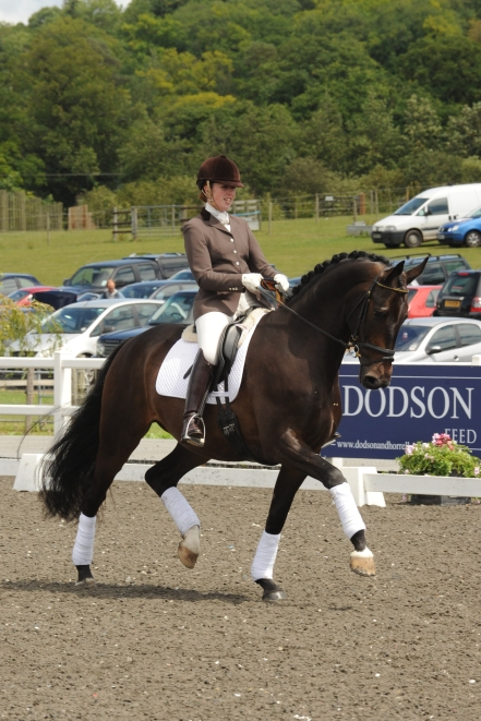Becky and Jack winning the 4yr old Championship 2011