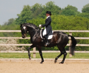 Becky & Caluna at Somerford Premier League