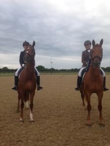 Eden and Bert posing!