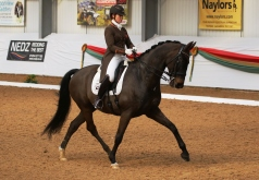 Becky and Carinsio at Myerscough Premier League 2020